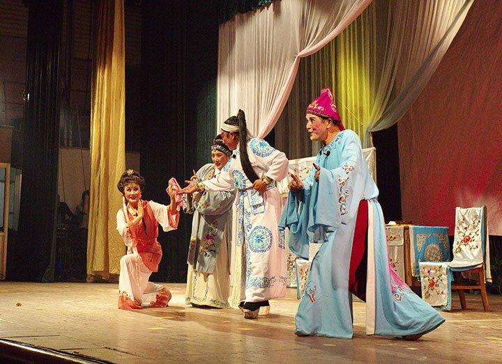 皖南花鼓戏是一种河南省的汉族戏曲剧种