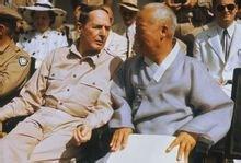 麦克阿瑟与韩国总统李承晚