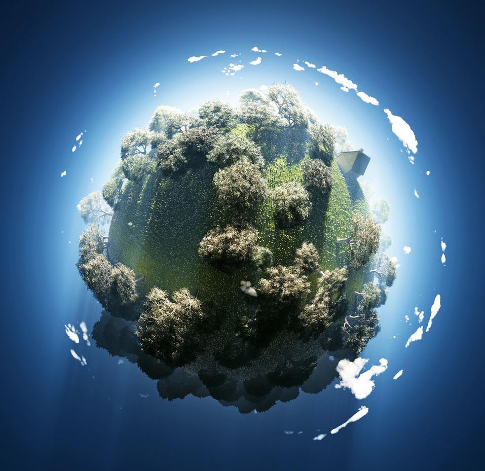 地球一半污染一般环保