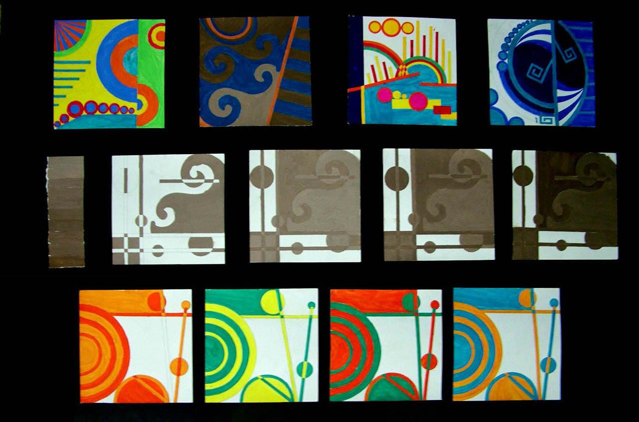 明度九调色彩构成图片-九宫格色彩图_色彩构成明度九宫格_色彩九宫格