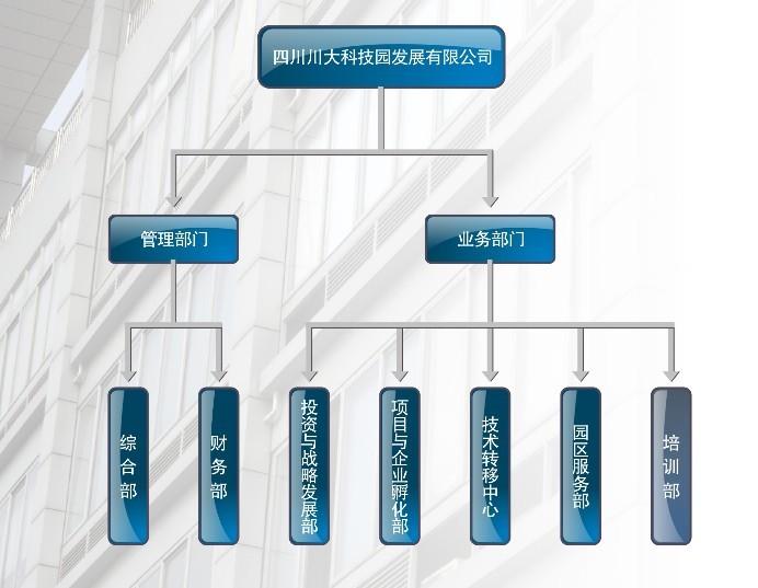 科技园组织结构
