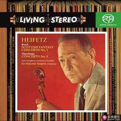 vieuxtemps: violin concerto no. 5 in a minor, op. 37, bruch: scottish fantasy, op. 46