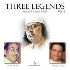 three legends - bengali nazrul geeti vol. 2