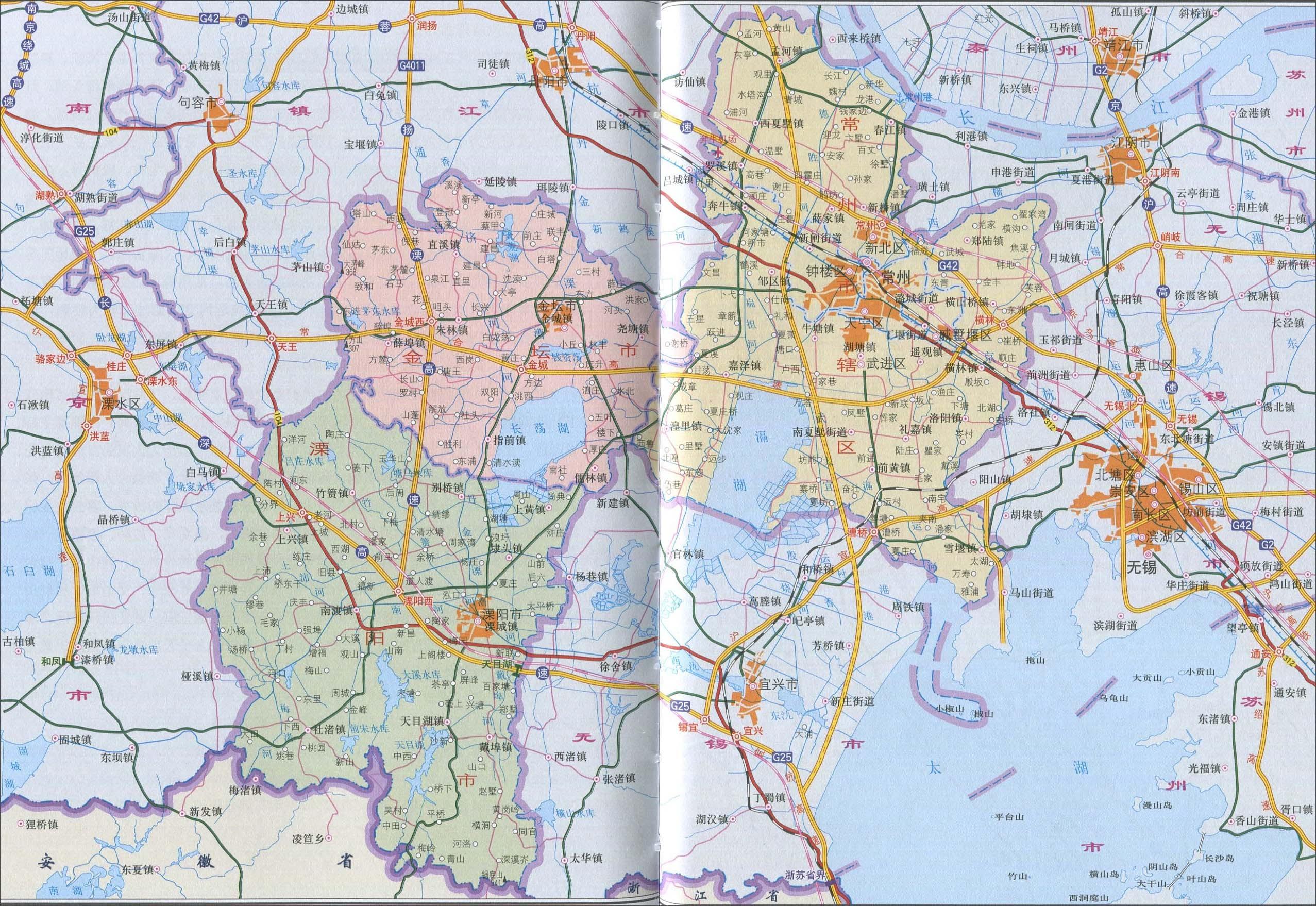 常州市地图