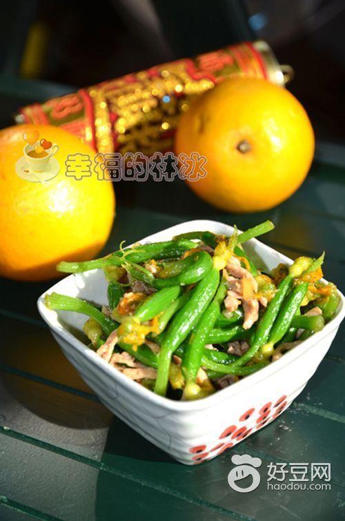 黄瓜花炒肉最正宗的做法图片