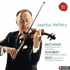 beethoven: violin sonata no. 7 in c minor; schubert: violin sonatina in g minor; bach: partita no. 2 in d minor, chaconne