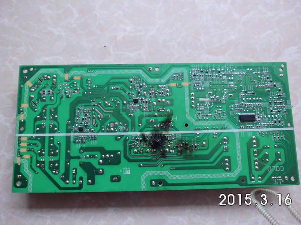 夏普液晶电视lcd-40l120a电源板烧坏