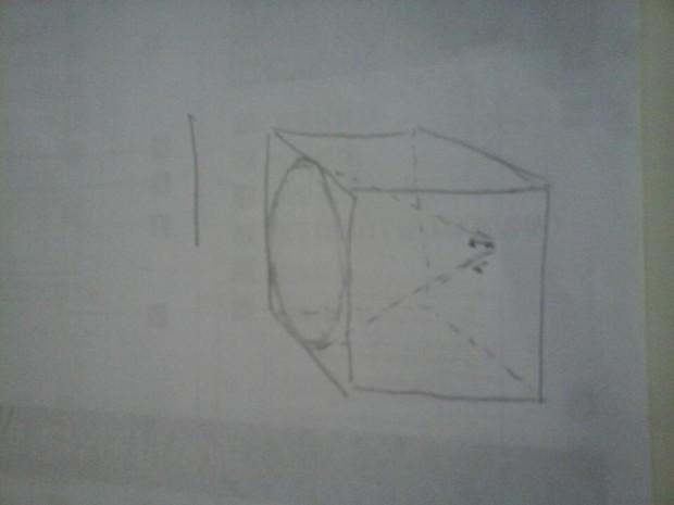 怎样画好正方体,圆锥的合并