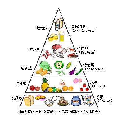 健康饮食金字塔