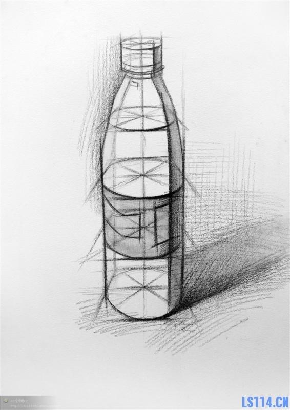 瓶子图形创意 手绘