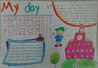 小學四年級下英語手抄報怎么做